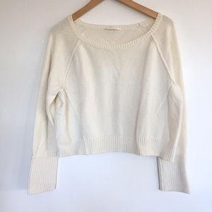 Athleta Cropped Kinsley Wool Blend Sweater
